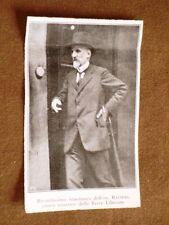 Giovanni Raineri Borgo San Donnino nel 1920 Ministro delle Terre liberate