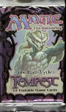 Magic Mtg Tempest Factory sealed Booster Pack X 3 !