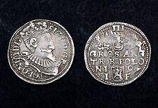 3 Groschen 1597 Pologne/ Polska. Sigismond III°. Argent/ Silver