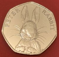 BEATRIX POTTER 2016 Peter Rabbit 50p fifty pence Coin Uncirculated