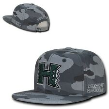 Camo University of Hawaii Rainbow Warriors Flat Bill Snapback Baseball Hat Cap