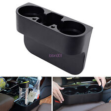 Universal Autos Seat Seam Wedge Cup Drink Bottle Stand Storage Box Holder Mount