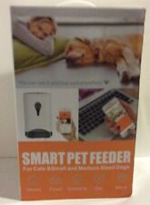 Smart Pet Feeder Automatic Dog Cat Food Feeder 4.5L with voice recorder