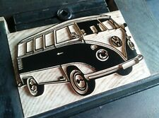 Letterpress VW Camper Van - Wood type - 16 line (67,5 mm)