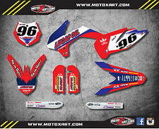 KTM 85 SX- 2013 - 2017 Full Custom Graphic Kit - ACTIVE STYLE decals / stickers