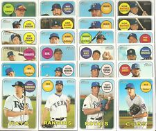 2018 Topps HERITAGE SHORT PRINT SP LOT (#401-500) >>PICK ANY 10 >>$20.00