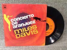 FRENCH EP MILES DAVIS - Concerto de Aranjuez - CBS Ep 6097