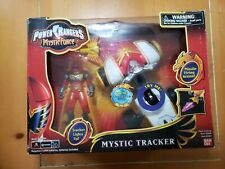 NEW Vintage Power Rangers Mystic Force MYSTIC Tracker w/ Red Ranger  2006 Bandai