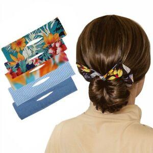 Womens Magic Hair Bun Maker Styling Donut Former Twists Band Maker Tool DIY Tool
