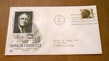 1966! Franklin D. Roosevelt! Prominent American Series! 6 Cent Stamp! Good Cond!