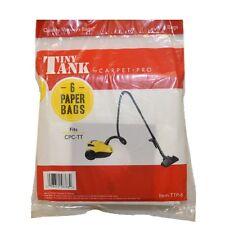 Carpet Pro CPC-TT Canister Paper Bags 6 Pk - TTP-6