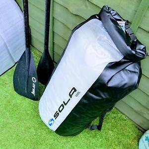 Sola 100L Litre Waterproof Dry Backpack Surf Swim SUP Kayak Roll Top Sports Bag