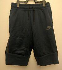 Nike Boys Tech Fleece Shorts Obsidian Youth Size XL Joggers 920972 451 New