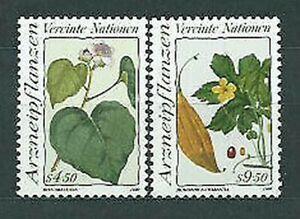 United Nations - Vienna Mail 1990 Yvert 106/7 MNH Plants