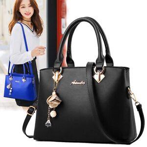 Women Faux Leather Handbags Shoulder Bags Tote Purse Messenger Satchel Crossbody