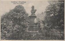 Postkarte - Annaberg / Erzgebirge - Adam Ries-Denkmal