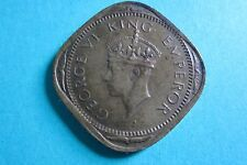 British India 1945 Two Annas Coin India 1945 Two Annas Coin British India 2 Anna