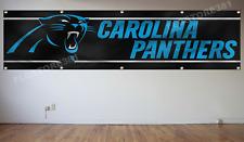 Camiseta de Jersey Carolina Panthers Nº Flag Banner 2X8Ft NFL Bandera Decoración casa cueva de hombre