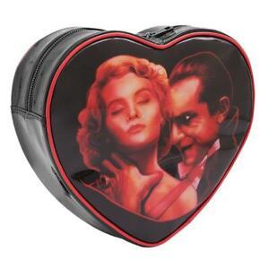 Rock Rebel Universal Monsters Dracula Choke Heart Lugosi Backpack BL-HB82-DRAC
