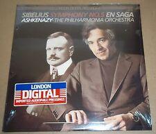 Ashkenazy SIBELIUS Symphony No.5, En Saga - London LDR 71041 SEALED