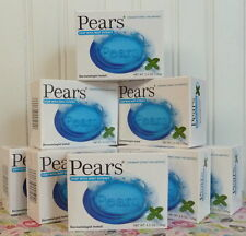 LOT OF 8 PEARS SOAP WITH MINT EXTRACT 3.5 OZ X 8