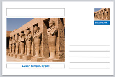 "Landmarks - souvenir postcard (glossy 6""x4""card) - Luxor Temple, Egypt"