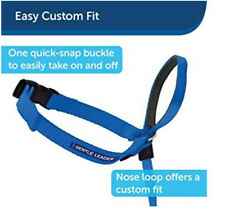 PetSafe Gentle Leader No-Pull Dog Quick Release Headcollar Collar Blue Medium