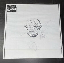 JOHN ROMITA SR rare THING Signed Sketch original Art