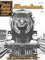 Shoreliner New Haven Winter 1979 Pacific Locomotives Snow Removal Steel Caboose