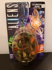 Vintage 1992 Kenner Aliens Scorpion Alien with Face Hugger