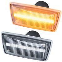LED SEITENBLINKER für OPEL Adam Astra H J GTC Cascada Corsa D E   KLARGLAS 71010