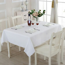 Table Cover Cloth Party Tablecloth Rectangle Theme Cotton Blend Covers Hot.US