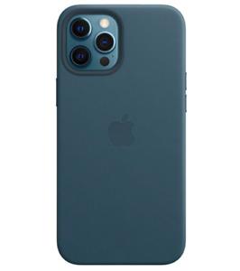 "Baltischblau ORIGINAL Apple iPhone 12 / 12 Pro 6,1"" MagSafe Leder Schutz Hülle"