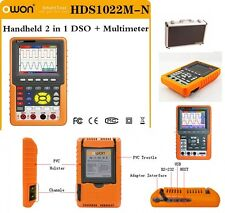 Owon HDS1022M-N  2channel 20MHz 100MS/s Handheld Digital  Storage Oscilloscope