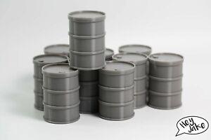 Wargaming Barrel Scatter Terrain Set of 10 for 54mm scale games - eg Inquisitor