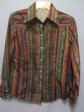 H Bar C California Ranch Wear size 36 (4/6) ladies western shirt snap buttons