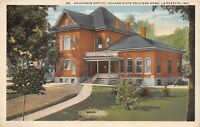 Lafayette Indiana~Civil War Soldiers Home~Adjutants Office~1920s Postcard