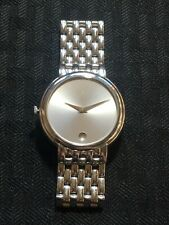 """Movado 84 G1 1881 Stainless Steal Swiss Watch 5 1/2"""" Band Lot#A104"""