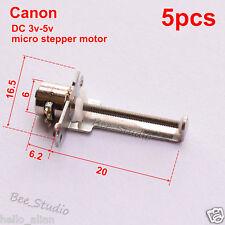 5pcs DC 3v 5v micro stepper motor 2-phase 4-wire motor mini linear screw slider