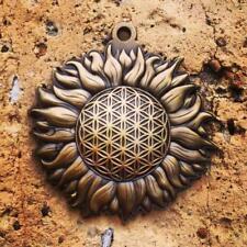 Sun Burst Sacred Geometry Pendant Sacred Geometry Jewelry by Enlighten
