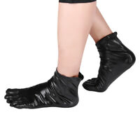Unisex Metallic Latex Rubber Club Short Ankle Socks For Women & Men Toe Socks