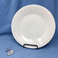 "Fiesta White Medium Luncheon / Lunch Plate, 9"" Diameter"
