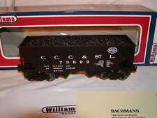 Williams Bachmann 48205 NYC Big Four 55 Ton Outside Braced 2 Bay Hopper O-27 New