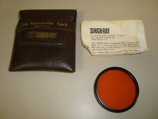 SINGH-RAY 52mm Type B Fluorescent Filter Lens USA & Case