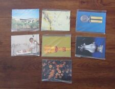 South Africa Unused Postcard set 1984 Minerals Medals 1985 Silverware Flowers