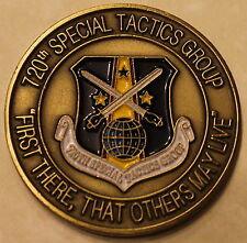 720th Special Tactics Group Pararescue PJ Air Force Challenge Coin - Variation!