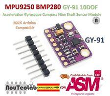 MPU9250 BMP280 10DOF Acceleration Gyroscope Compass Nine Shaft Sensor GY-91