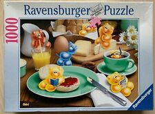 Gelini 'The Gelinis Having Breakfast' 1000 piece rare jigsaw puzzle (2002)