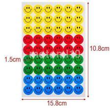 Smile Face Reward School 540Pcs Children Kids Teacher School Merit Stickers CA
