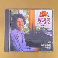 RICCARDO DEL TURCO - LUGLIO - 1997 DUCK -  OTTIMO CD [AQ-163]